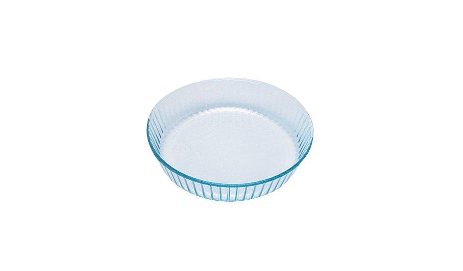 Cm Glass Flan Dish