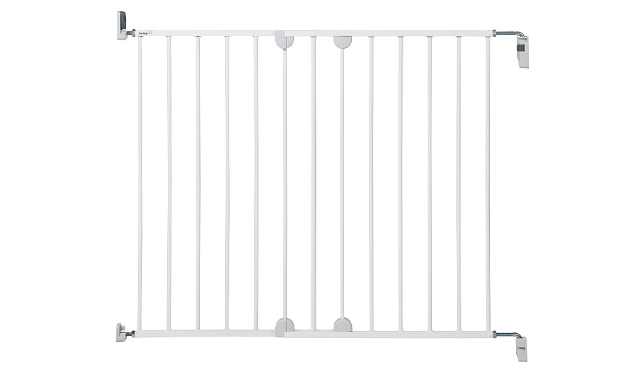 how to fix gate post to wall