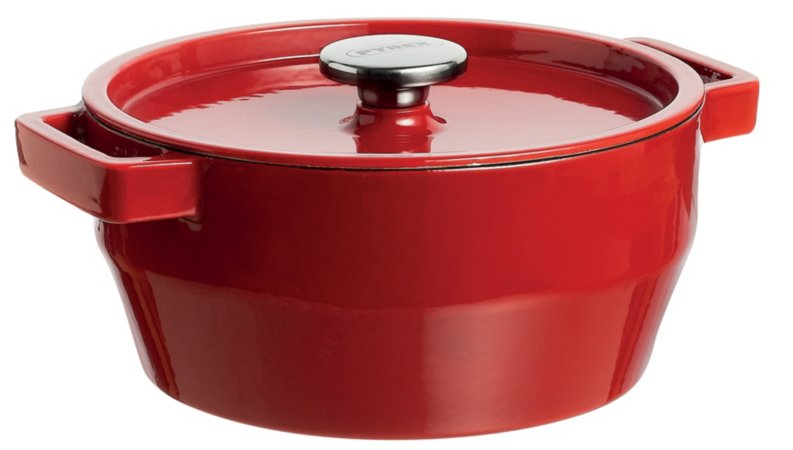 Pyrex Red Range