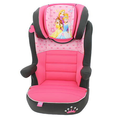 disney princess rway high back booster car seats asda direct. Black Bedroom Furniture Sets. Home Design Ideas