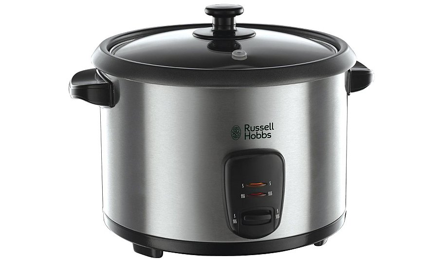 Russell Hobbs 19750 1 8l Rice Cooker Stainless Steel