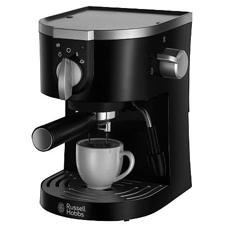 George Home Coffee Maker : Russell Hobbs 19720 Pump Espresso Machine Coffee Machines ASDA direct