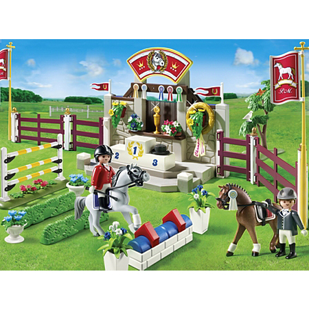 playmobil horse show animals asda direct. Black Bedroom Furniture Sets. Home Design Ideas
