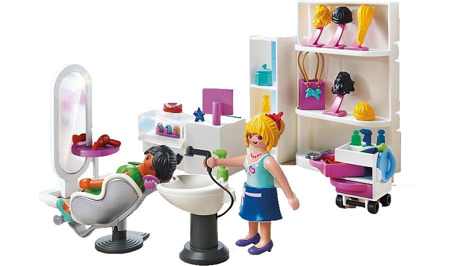 Playmobil beauty salon kids george at asda for Salon playmobil