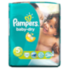 Pampers Baby Dry Size 5 Junior 11kg-25kg Carry Pack - 23 Nappies