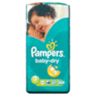 Pampers Baby Dry Size 3 Midi 4kg-9kg Essential Pack 52 Nappies
