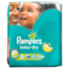 Pampers Baby Dry Size 5+ Junior+ 13kg-27kg Essential Pack 35 Nappies