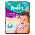 Pampers Active Fit Size 4 Maxi 9kg-20kg Carry Pack 24 Nappies