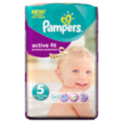 Pampers Active Fit Size 5 Junior 11kg-25kg Carry Pack 21 Nappies