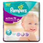 Pampers Active Fit Size 5 Junior 11kg-25kg Essential Pack 35 Nappies
