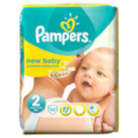 Pampers New Baby Size 2 Mini 3kg-6kg Carry Pack 32 Nappies