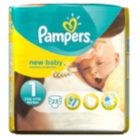 Pampers New Baby Size 1 Newborn 2kg-5kg Carry Pack 23 Nappies