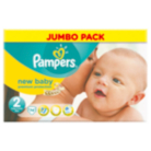 Pampers New Baby Size 2 Mini 3kg-6kg Jumbo Pack 74 Nappies