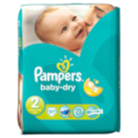 Pampers Baby Dry Size 2 Mini 3kg-6kg Carry Pack - 37 Nappies