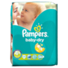 Pampers Baby Dry Size 4+ Maxi + 9kg-20kg Essential Pack 41 Nappies