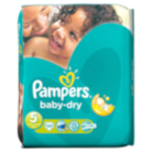 Pampers Baby Dry Size 5 Junior 11kg-25kg Essential Pack 39 Nappies