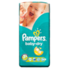 Pampers Baby Dry Size 3+ Midi + 5kg-10kg Essential Pack 50 Nappies