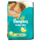 Pampers Baby Dry Size 4 Maxi 9kg-20kg Essential Pack 45 Nappies