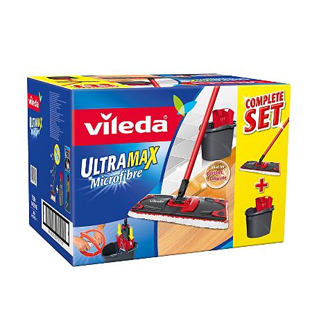 vileda ultramax mop and bucket set cleaning asda direct. Black Bedroom Furniture Sets. Home Design Ideas