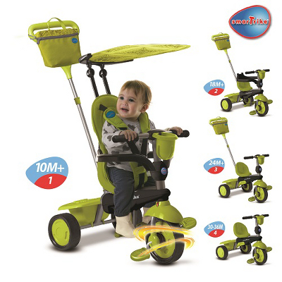 Green Smart Smart Trike Green Spirit Trike