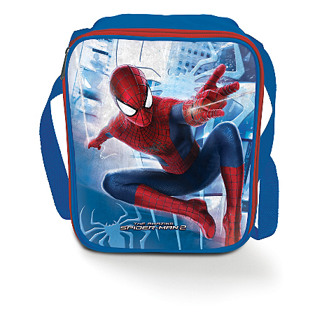 spiderman lunch bag kids dining asda direct. Black Bedroom Furniture Sets. Home Design Ideas