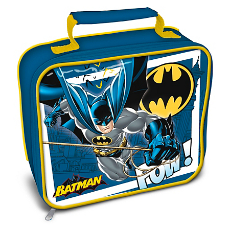 batman rectangle lunchbag kids dining asda direct. Black Bedroom Furniture Sets. Home Design Ideas