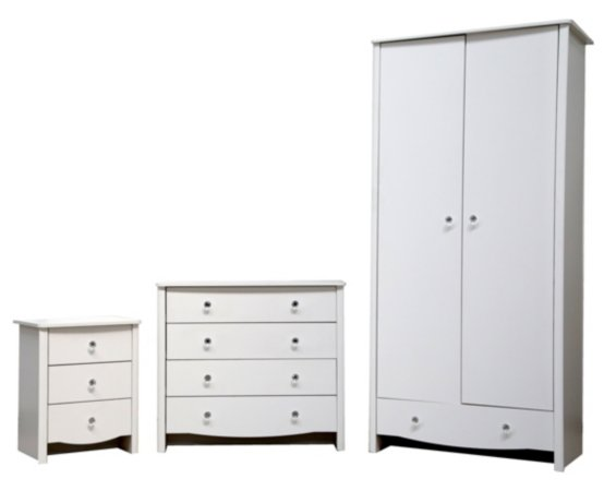 Princess Kids Bedroom Furniture Range
