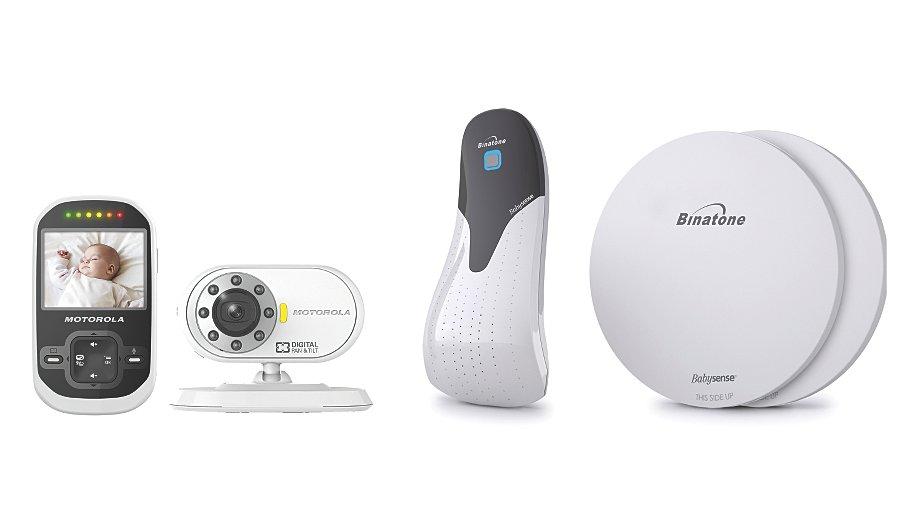 motorola mbp26 digital audio and video monitor baby sense sensor baby asda direct. Black Bedroom Furniture Sets. Home Design Ideas