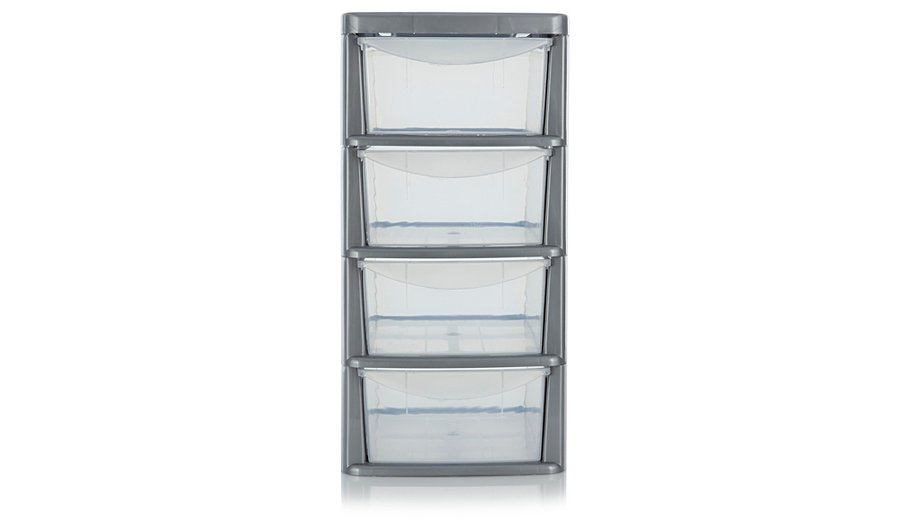 ASDA 4 Drawer Storage Unit