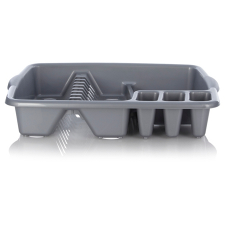 how to clean dish drainer