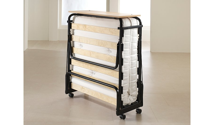 Asda double folding bed : Jay be folding bed with pocket sprung mattress single