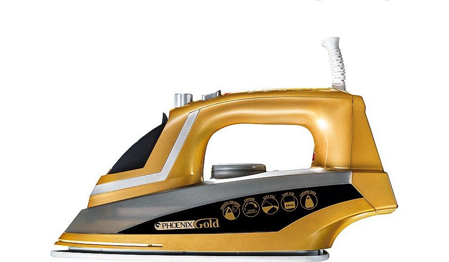 jml v16120 phoenix gold 2200w steam iron irons george. Black Bedroom Furniture Sets. Home Design Ideas