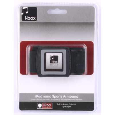 iBox iPod Nano Sports Armband (6th Gen), Black product image
