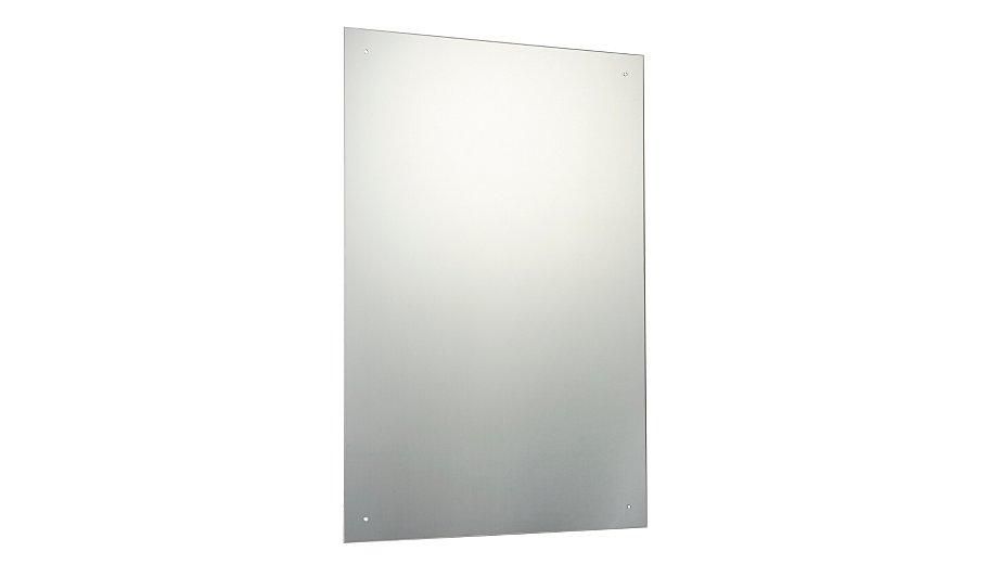 Rectangular unframed mirror 90 x 60cm mirrors asda for Mirror 90 x 60