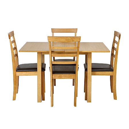 Shultz Flip Top Dining Table And 4 Chairs Dining Tables