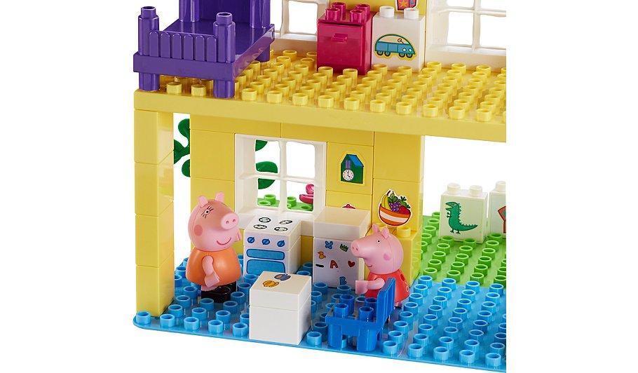 peppa pig house construction set instructions