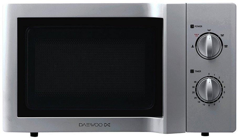 Daewoo Kor6l65sl 20l 800w Microwave Oven Silver