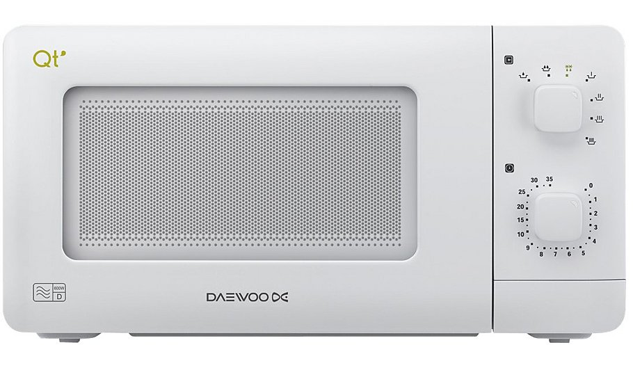 Daewoo Qt1 14l 600w Microwave Oven White Home Amp Garden
