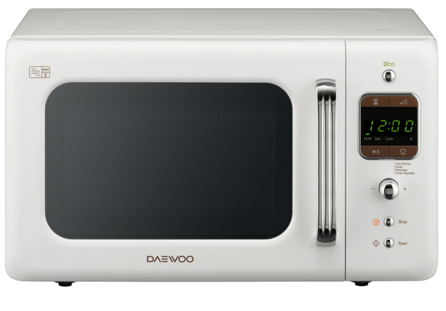 Daewoo Retro 20l 800w Microwave Various Colours