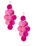 Shell Drop Earrings - Pink main view