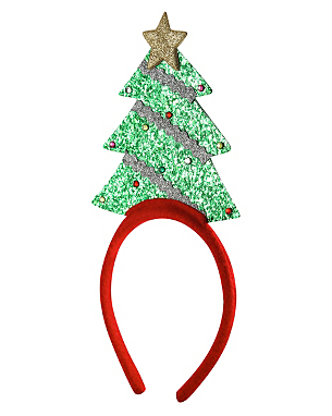 christmas tree headband women george at asda. Black Bedroom Furniture Sets. Home Design Ideas