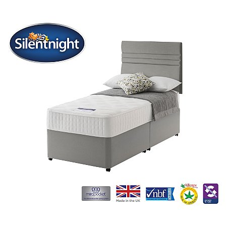 Silentnight Mirapocket 1000 Deluxe Divan Single Various Storage Beds Asda Direct
