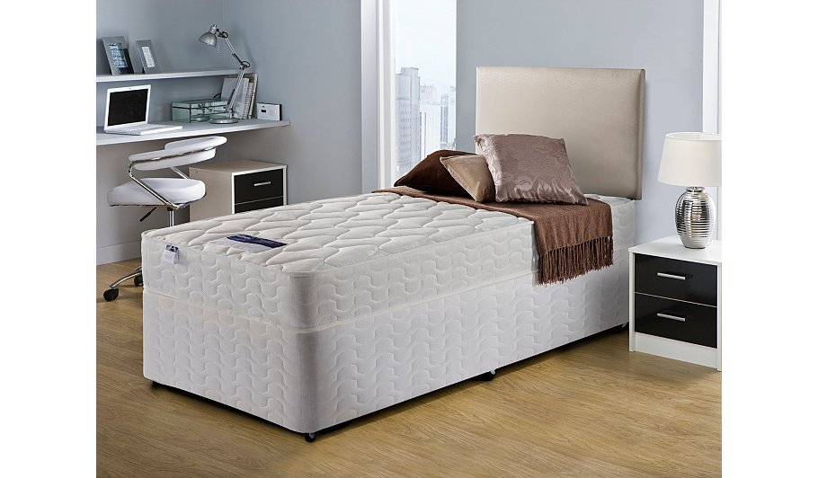 Silentnight Miracoil Ortho Divan Single Various Storage Beds George At Asda