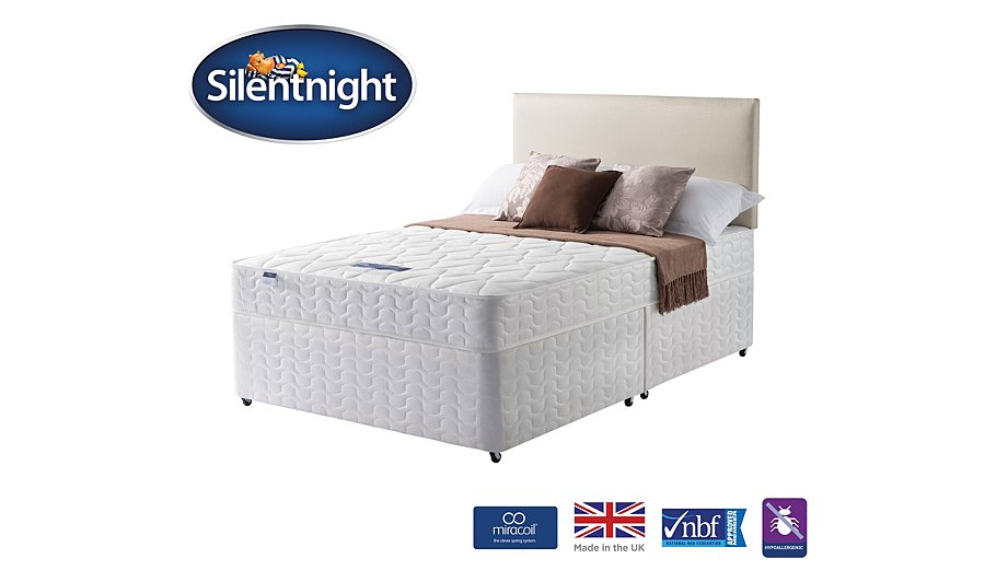 Silentnight Miracoil Ortho Divan King Size Various Storage Beds George At Asda