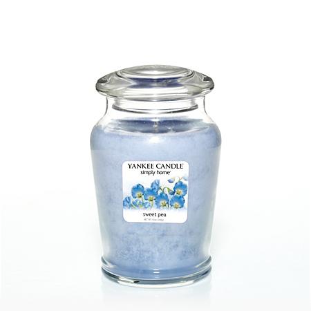 yankee candle sweetpea medium jar candles holders. Black Bedroom Furniture Sets. Home Design Ideas