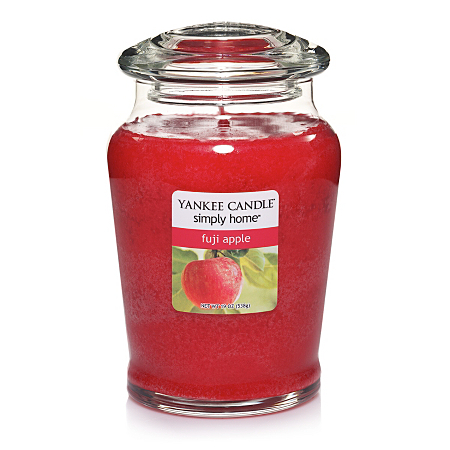 yankee candle fuji apple large jar candles holders. Black Bedroom Furniture Sets. Home Design Ideas