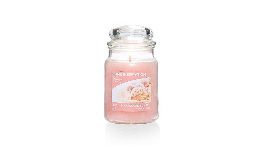 yankee candle home inspiration large jar pink island. Black Bedroom Furniture Sets. Home Design Ideas