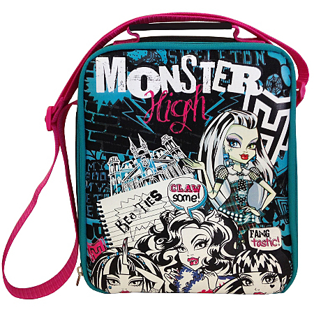 monster high clawsome lunch bag dining asda direct. Black Bedroom Furniture Sets. Home Design Ideas