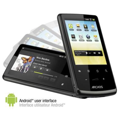 Archos 28 Internet Tablet 4gb, Black ARC501562