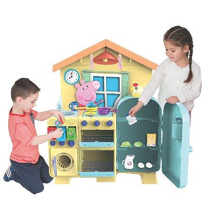 peppa pig house kitchen kids asda direct. Black Bedroom Furniture Sets. Home Design Ideas